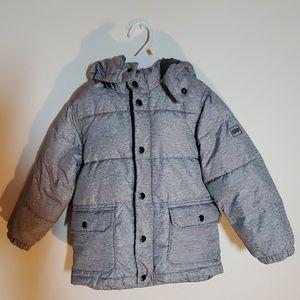 Boys 5T Grey Puffer Coat